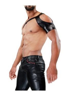 Open Shoulder harness Black