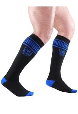 Footish Socks Black-Blue