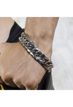 Chunky Steel Bracelet - EST30140103 (XB34070-3040)