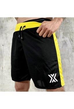 Football Short - Black/Yellow