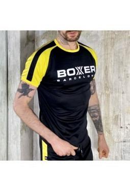 Football Shirt - Black/Yellow